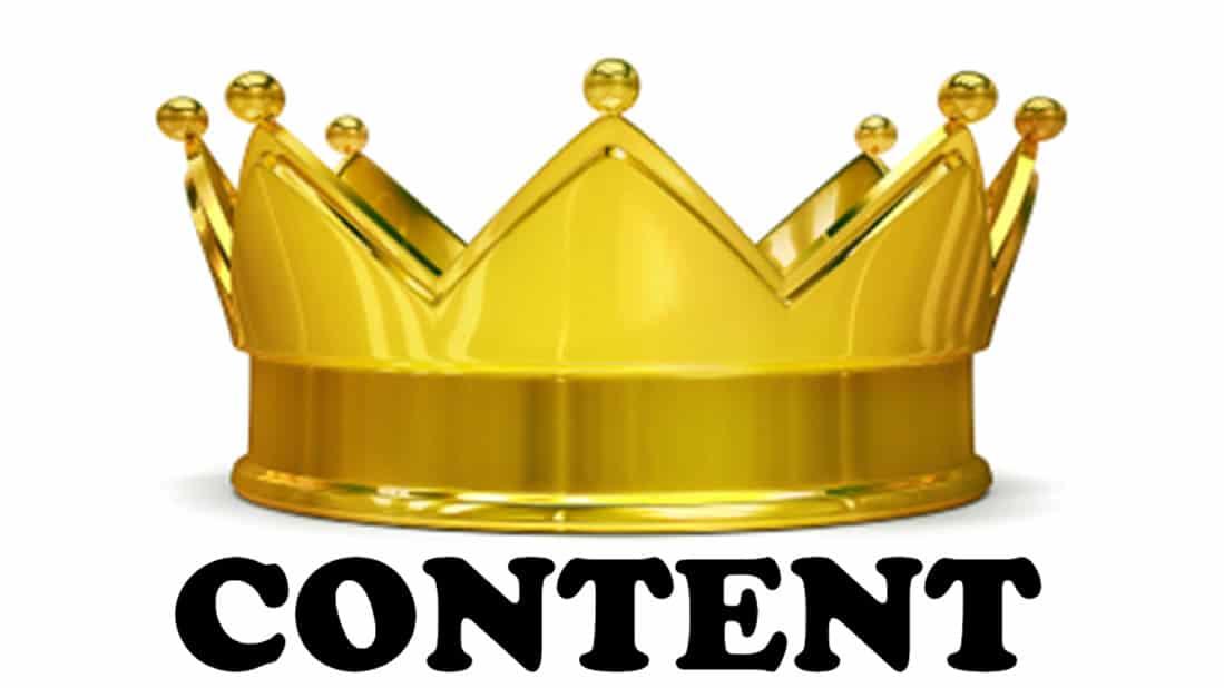 contenuti siti web