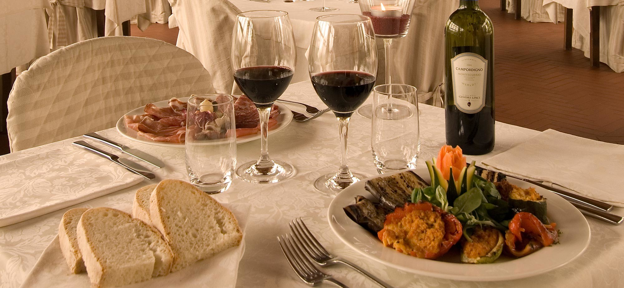 Il sito web per la ristorazione