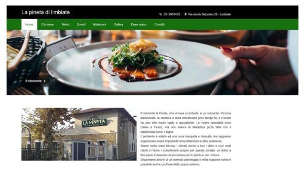 la pineta homepage